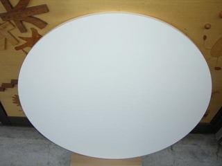丸テーブル・ポリ合板