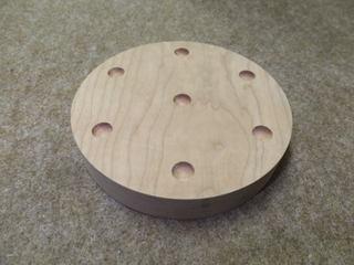 円盤・窪み穴